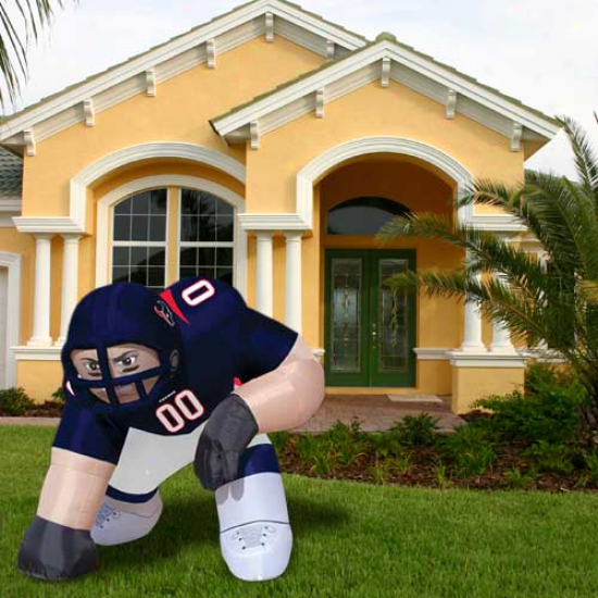 """houston Texans 5' Inflatable """"bubba"""" Player Mascot"""
