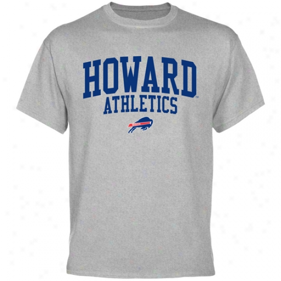 Howard Bison Athletics T-shirt - Ash