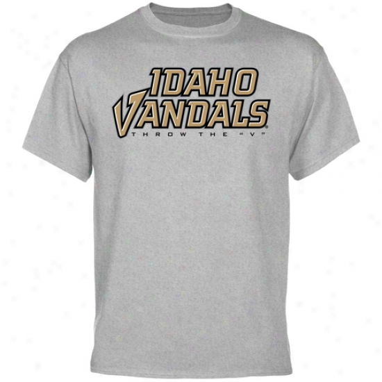 Idaho Vandals Bold Team T-shirt - Ash