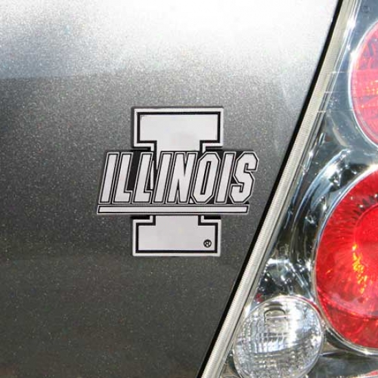 Illinois Fighting Illini Auto Emblem
