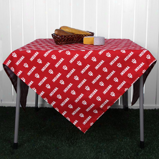 Indiana Hoosiers Collegiate Card Table Cover
