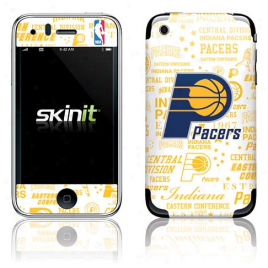 Indiana Pacers iHstoric Blast Iphone 3g/gs Skin