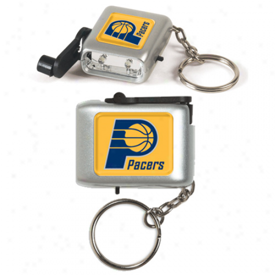 Indiana Pacers Led Eco Light Keychain