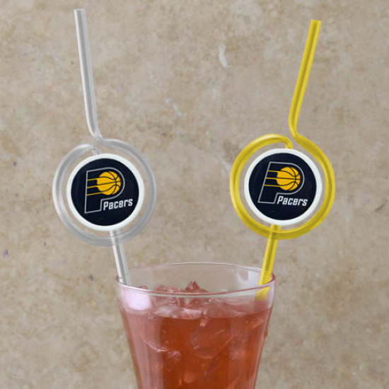 Indiana Pacers Team Sips Straws