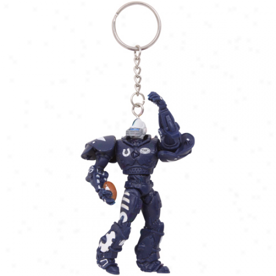 Indianapolis Colts 3'' Fox Sports Robot Keychain