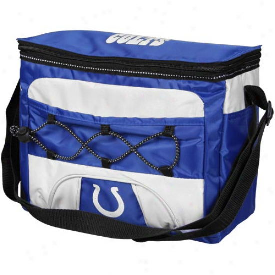 Indianapolis Colts Royal Blue Patroller Cooler