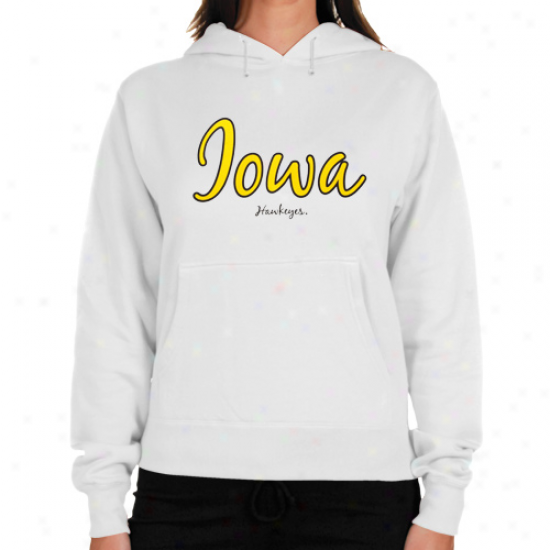 Iowa Hawkeyes Ladies Of a ~ color Vanity Contrast Hoodie Sweatshirt