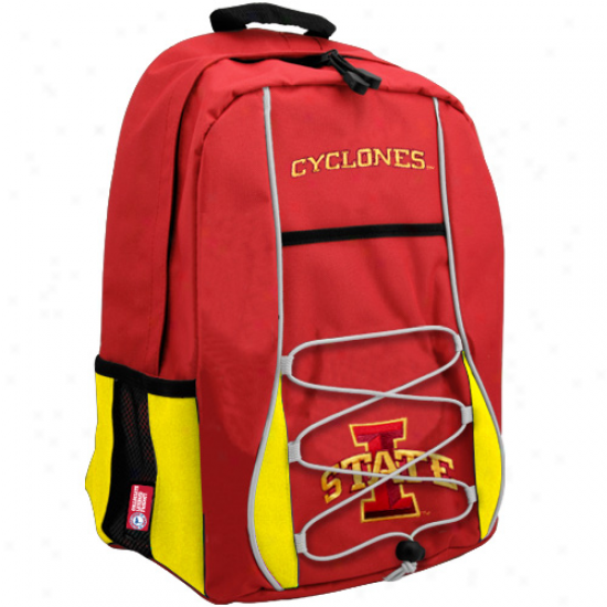 Iowa State Cyclones Cardinal-gold Scrimmage Backpack