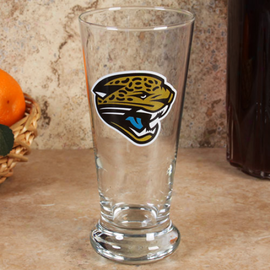 Jacksonville Jaguars 16.5oz Flared Pilsner Glass