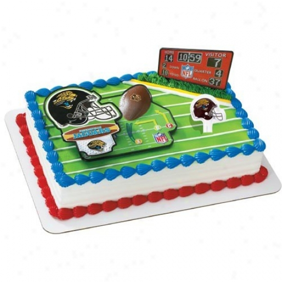 Jacksonville Jaguars Cake Decorating Kit