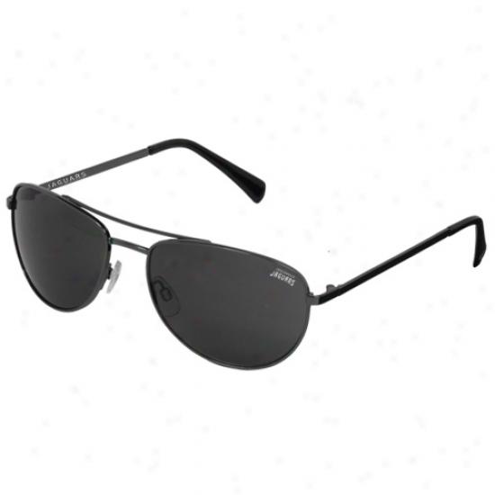 Jacksonville Jaguars Gunmetal Blitz Sunglasses
