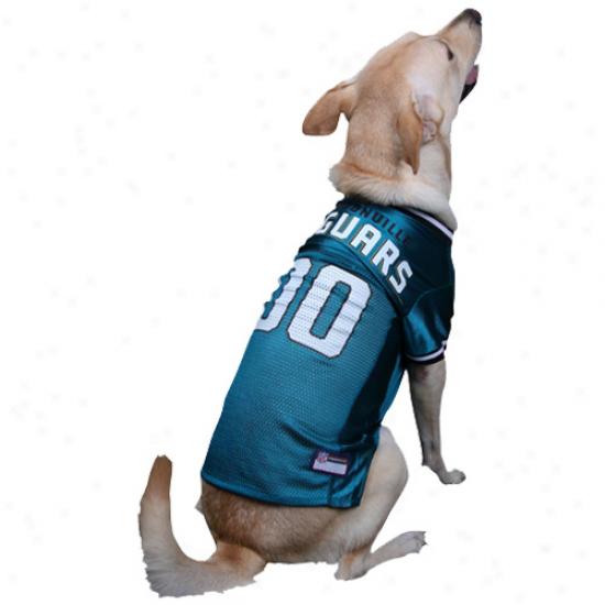 Jacksonville Jaguars Teal Mesh Pet Footbalp Jersey