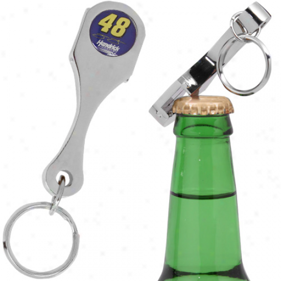 Jimmie Johnson Connecting Rod Bottle Opener Keychain