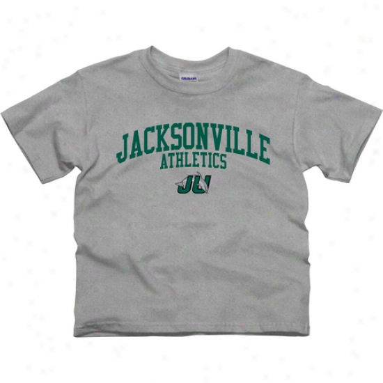 Ju Dolphins Youth Athletics T-shirt - Ash