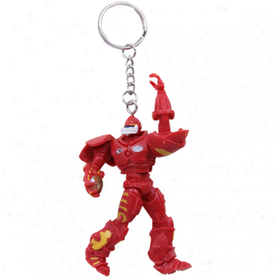 Kansas City Chiefs 3'' Fox Sports Robot Kehchain
