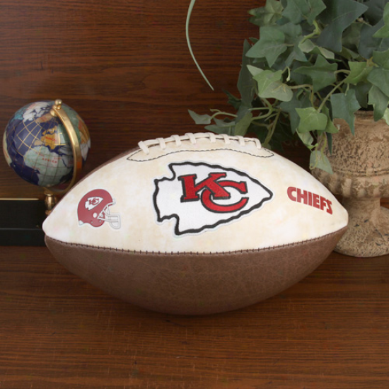 Kansas City Chiefs Nfl Vintage Full-size Football