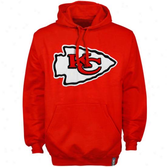 Kansas City Chiefs Red Classic Heavyweight Iii Pullover Holdie Sweatshirt