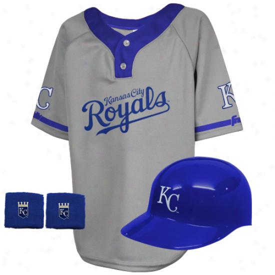 Kansas City Royals Kids Team Uniform Set