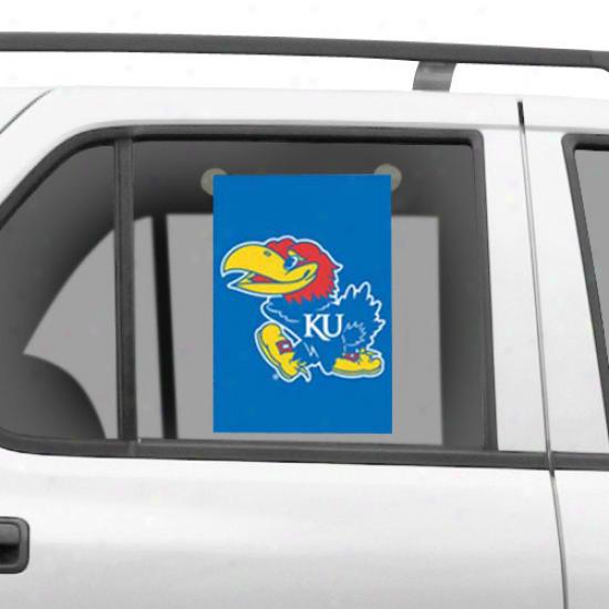 Kansas Jayhawks 15'' X 10.5'' Mini Window/garden Flag