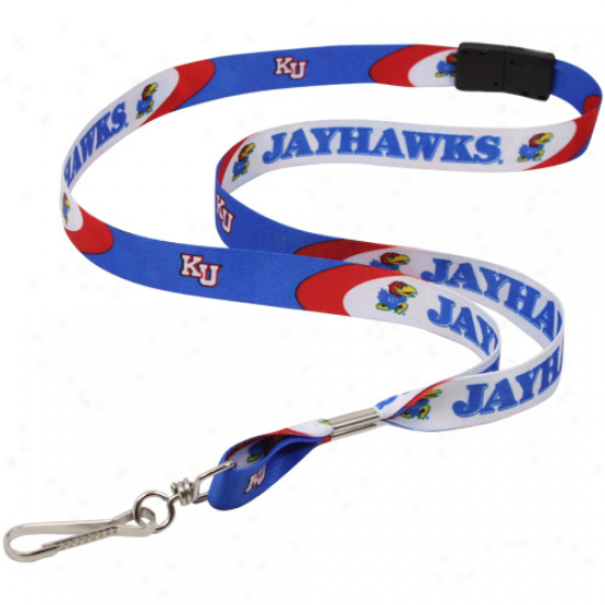 Kansas Jayhawks Blue Event Lanyard