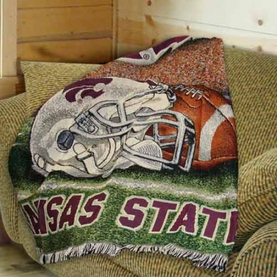 Kansas State Wildcats 48'' X 60'' Throw Blanket