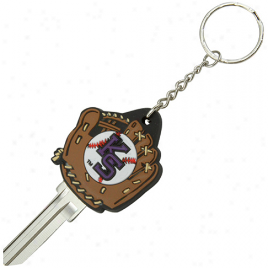 Kansas State Wildcats Baseball Glove Key Blank Kdychsin