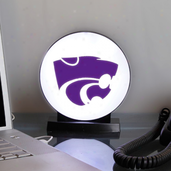 Kansas State Wildcats Led Usb Logo Light