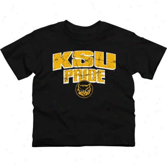Kennesaw State Owls Youth State Pride T-shirt - Black
