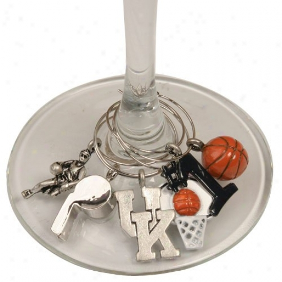 Kentucky Wildcats Glasqware Charm Plant