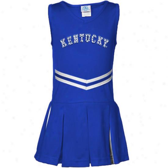 Kentcky Wildcats Infant Girls Royal Blue Cheerleader Dress