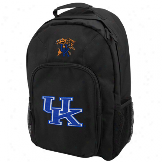 Kentucky Wildcats Youth Black Southpaw Bacipack