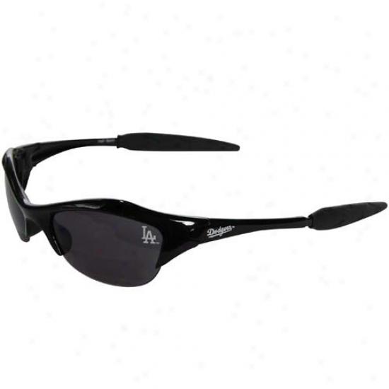 L.a. Dogers Black Mlb Half Construct Sport Sunglasses
