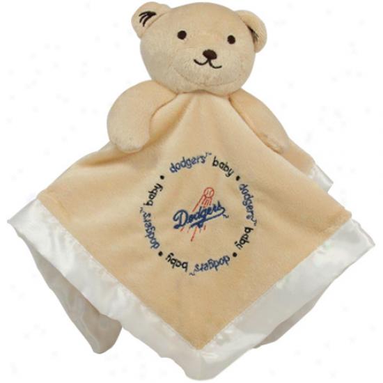 L.a. Dodgesr Infant Snuggle Bear Blanket