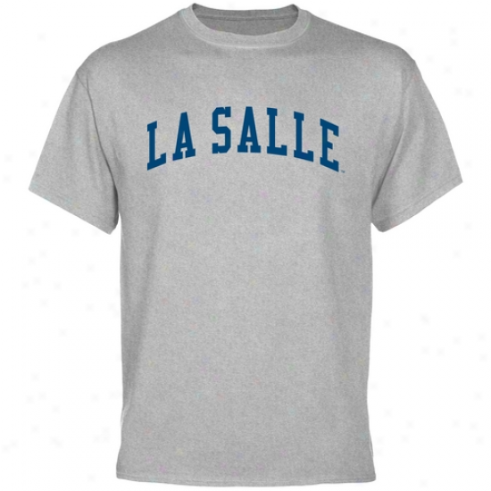 La Salle Explorers Basic Arch T-shirt - Ash