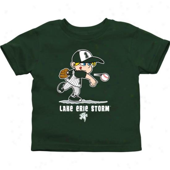 Lake Erie College Storm Toddler Boys Baseball T-shirt - New