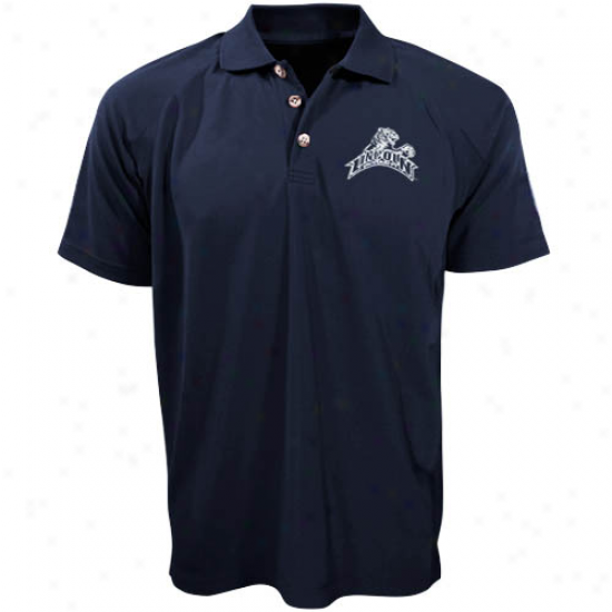 Lincoln Blue Tigers Navy Blue Resentment  Polo