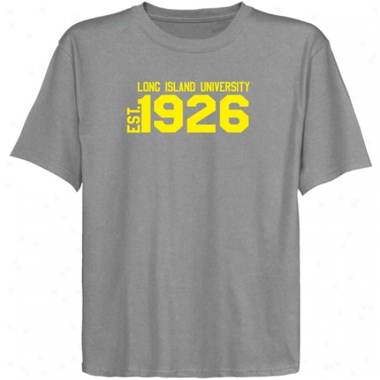 Long Island Blackbirds Youth Ash Est. Date T-shirt