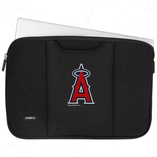 Los Angeles Angels Of Anaheim Dark 15' Laptop Breathe Sleeve