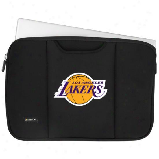 Los Angelrs Lakers Black 15'' Laptop Sleeve