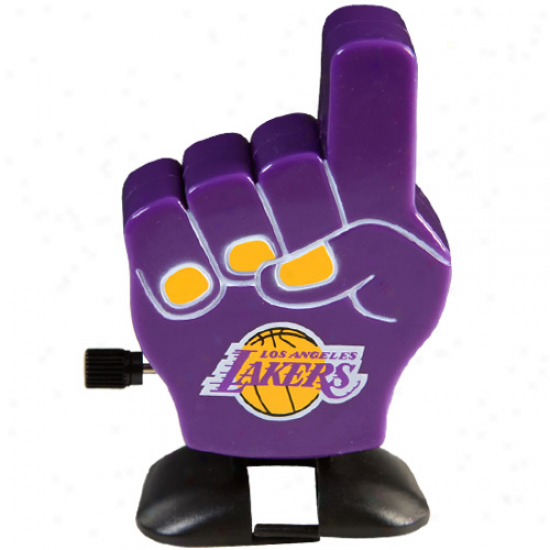 Los Angepes Lakers Fan Finger Wind-up Toy