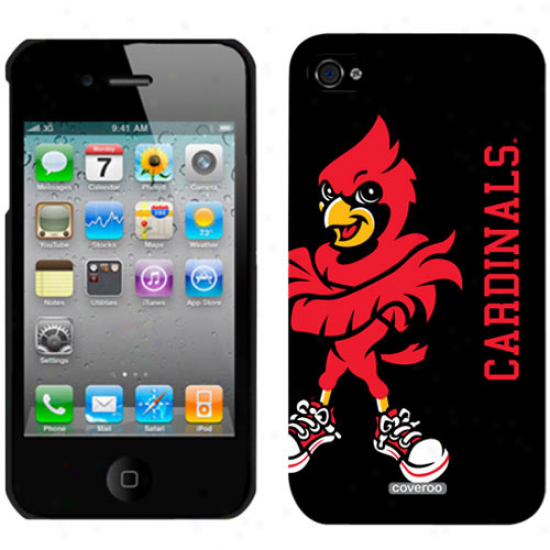Louisville Cardinals Full Loggo Iphone 4/4s Case