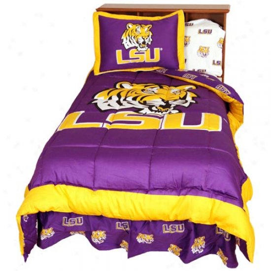 Lsu Tigers Collegaite Bed In A Sack Contrive