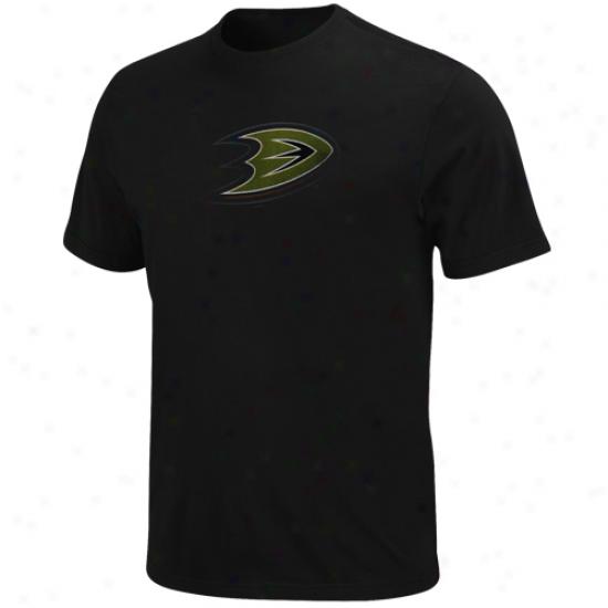 Majestic Anaheim Ducks Amazing Great T-shirt - Black