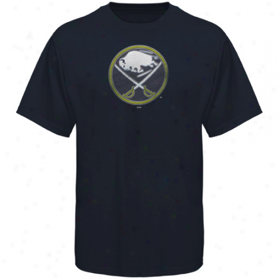 Majestic Buffalo Sabres Amazibg Great T-shirt - Navy Blue -