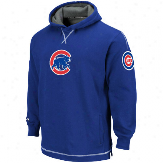 Majestic Chicago Cubs Youth Royal Blue The Liberation Pullover Hoody Sweatshirt