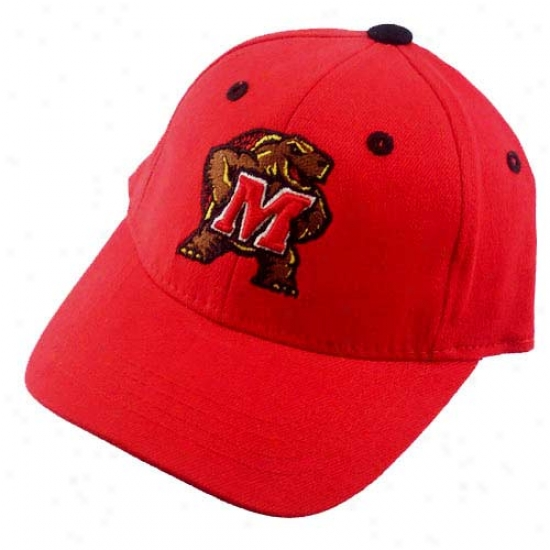 Maryland Terrapins Red Infant 1Qualified Hat -