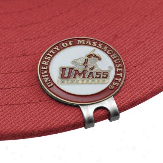 Massachusetts Minutemen Ball Markers & Hat Clip Plant