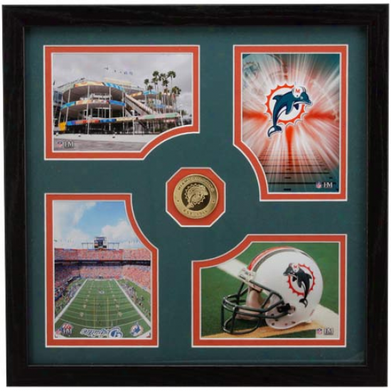 Miami Dolphins Fan Memories Photkmint Frame