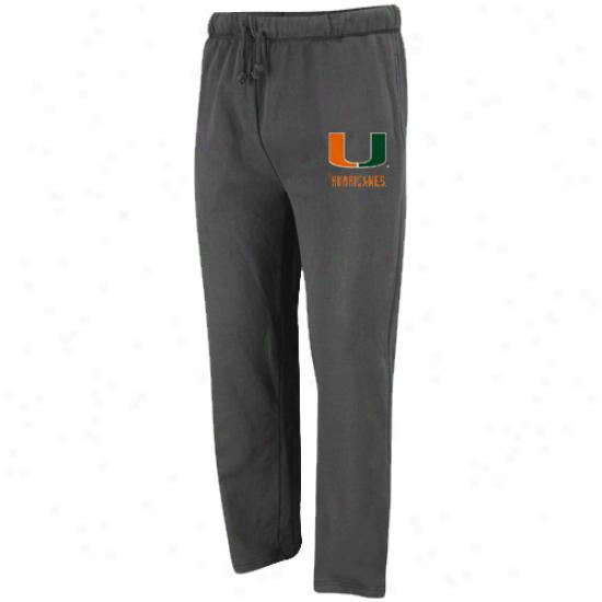 Miaji Hurricaneq Charcoal Empire Fleece Pants