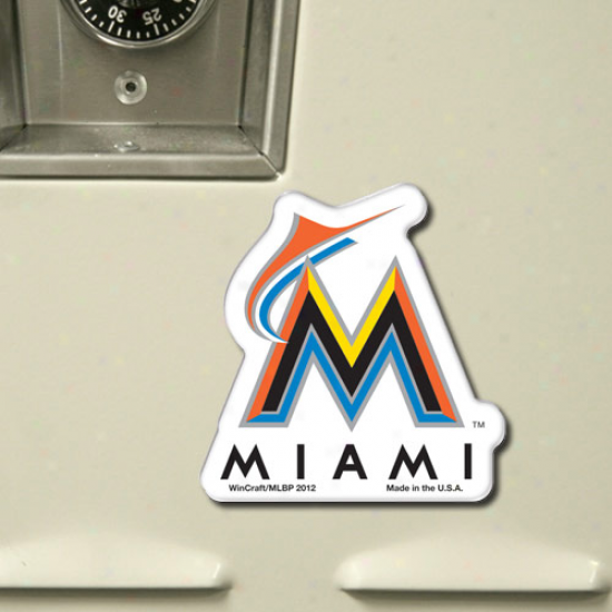 Miami Marlins Acrylic Hd Magnet